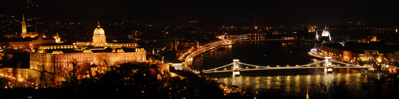 Panorama Budapešti
